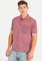 STYLE REPUBLIC - Golfer with Piping Detail Maroon