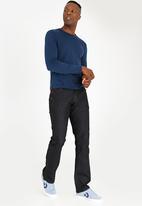 SOVIET - Fonsi #12 Straight Leg Denim Jeans Black