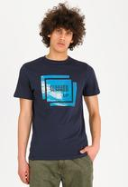 STYLE REPUBLIC - Summer up print tee - blue