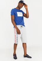 Tommy Hilfiger - Graphic basketball shorts - grey