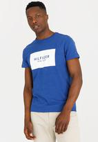 Tommy Hilfiger - Block Graphic Tee Blue