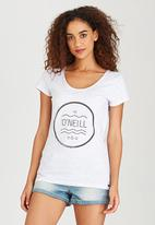 O'Neill - Waves Logo Tee Grey Melange