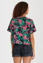 Rip Curl - Paradise Found Boxy Tee Light Green