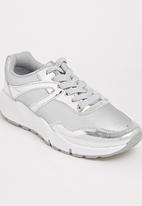Tom Tom - Metallic Sneakers Silver