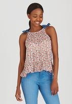 Sassoon - Forever Bow A-Line Shell Top Red