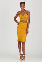 Fashion Union - Pepper Lace Detail Cami Gold