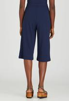 STYLE REPUBLIC - Self-Tie Culottes Navy