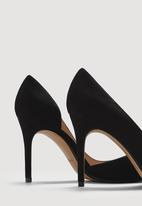 MANGO - Asymmetric Stiletto Heels Black