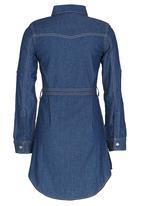 GUESS - Denim Shirt Dress Blue