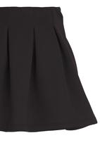 Rebel Republic - Pleated Skirt Black