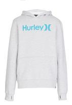 Hurley - Hurley One&Only Heather Pop Fleece Hoody Grey
