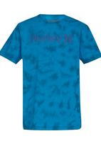 Hurley - Hurley -B- OO Lightning  T-Shirt Blue
