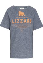Lizzard - Printed Tee Multi-colour