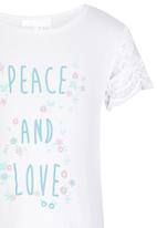 See-Saw - Summer Top White