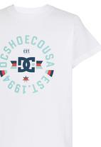 DC - Emblem Boys Tee White