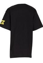 Lizzard - Printed T-Shirt Black