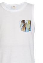 Soobe - Palm Trees Athlette Vest White