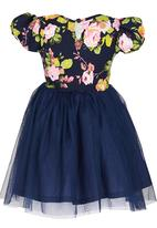 See-Saw - Tulle Dress Navy