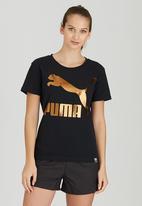 PUMA - Archive Logo Tee Black