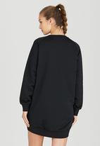 PUMA - Printed Sweater Dress Black