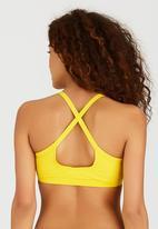 PIHA - High-Neck Crop Top Yellow