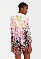 London Hub - Animal Print Shirt Multi-colour