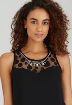 c24d6e2ff173e Ava May Sleeveless Blouse with Neck Trim Black Sissy Boy T-Shirts ...