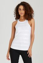 SISSY BOY - Haven Sequinned Tank White