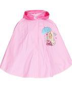 Character Fashion - Barbie Rain Poncho Mid Pink
