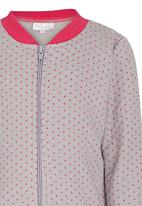 See-Saw - Quilted Bomber Grey