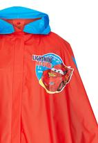 Character Fashion - Cars Rain Poncho Red