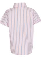 See-Saw - Check Shirt Pale Pink