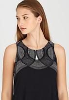 RVCA - Neck Lace Tank Black