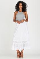G Couture - Maxi Skirt White