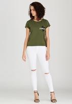 Levi's® - Marina Someday Tee Khaki Green