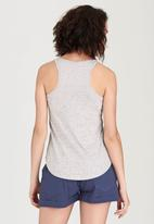 O'Neill - Lettering Branded Tank Top Pale Grey