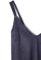 MANGO - Textured Cami Dark Blue