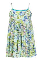 See-Saw - Pom-pom Dress Multi-colour