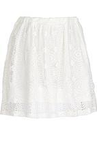 Rebel Republic - Anglaise Skirt White