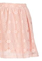 Rebel Republic - Anglaise Skirt Mid Pink