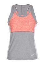 Lithe - Sporty Colourblock Vest Coral