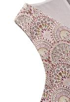 MANGO - Jacquard Cotton Top Multi-colour
