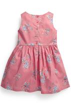 Next - Floral Dress Pale Pink