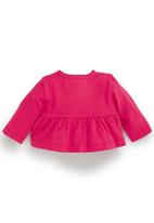Next - Jersey Cardigan Mid Pink