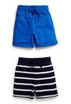 Next - Two Pack Basic Shorts Multi-colour