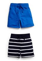 Next - Two Pack Basic Shorts Multi-colour