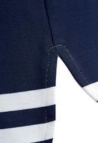 Next - Striped Tunic Pale Grey