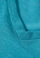 Next - V-neck Tee Mid Blue