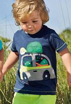 Next - Turtle Car T-Shirt Navy
