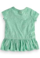 Next - Peplum Tunic Light Green